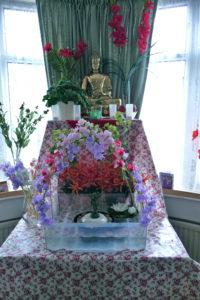 Wesak 2016 Altar